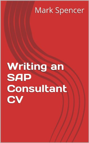 writing an sap consultant cv