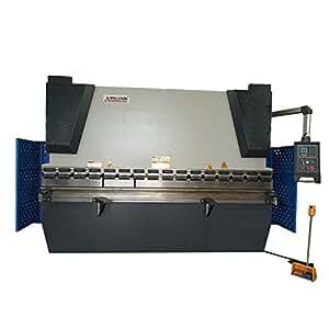AOXUAN WC67K E21 System CNC Hydraulic Sheet Metal Press Brake Bending Machine,80Ton Pressure,10hp Motor,98 Inches Bending Length