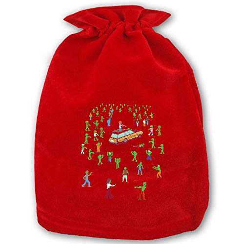 Organ Trail Zombie Horde Merry Christmas Gift Bag from Santa Gift Socks Sack for Kids Presents Xmas Bag for Self Personalization]()