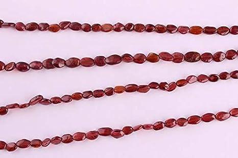 Garnet Plain beads Mozambique Garnet oval plain beads Jewelry making 17 inch Strand Natural Mozambique Garnet beads BH#68A 7-10 mm