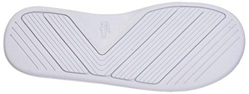 Lacoste Para L wht 2 Hombre Slide Blanco grn 118 30 Cam Chanclas 67Bnp6w0