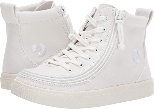 BILLY Footwear Kids Unisex Classic Lace High (Toddler/Little Kid/Big Kid) White 2 M US Little Kid