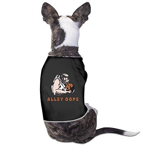 (Skkoka Fashion Sleeveless Pet Supplies Dog Cat Clothes Bowling Alley Oops! Caveman Pet Apparel Clothing S)
