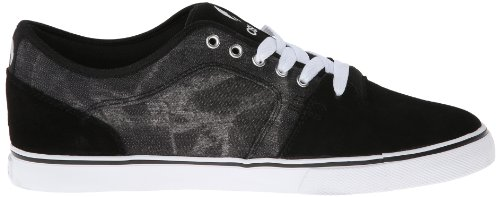 Osiris Shoes Mens Decay Skateboarding Shoes Black/Cream/White bpu8Jpv