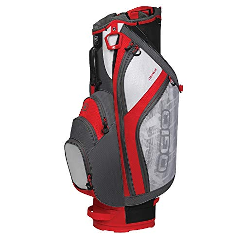 OGIO 2018 Cirrus Cart Bag, Rush Red