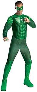 Rubie's 889987XL - Disfraz de Linterna verde para hombre (talla XL)