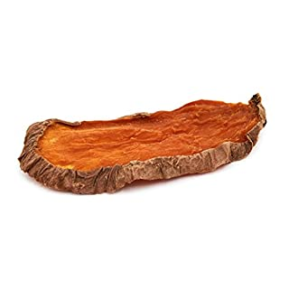 BRUTUS & BARNABY Single Ingredient Dog Treats - 2 lb Dehydrated Sweet Potato Slices, All Natural & Thick Cut, Grain Free, No Preservatives Added, Best High Anti-Oxidant Healthy Dog Chew