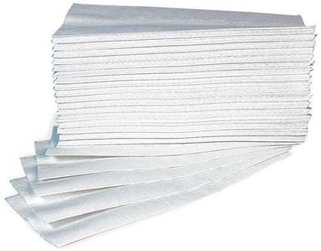 Takestop® - 60 x Toallas de papel gofrado desechables para secar las manos: Amazon.es: Electrónica