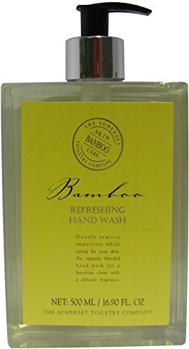 - Somerset Toiletry Hand Wash Refreshing Bamboo 16.9 Ounce