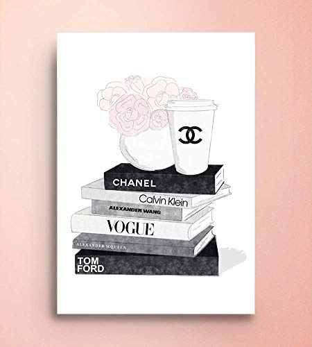 (Coco Chanel, Canvas/Print Wall Art, Gallery Wrapped, Interior Decoration, Modern Art - 'Cool Story'.)