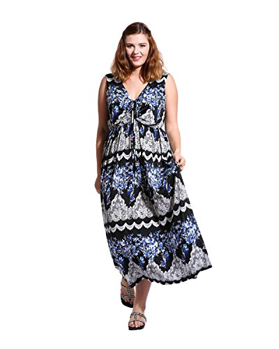 Buy Plus size womens summer dresses - 7