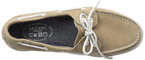 Sperry O 2-Eye Washable, Náuticos Para Hombre Beige (Taupe)