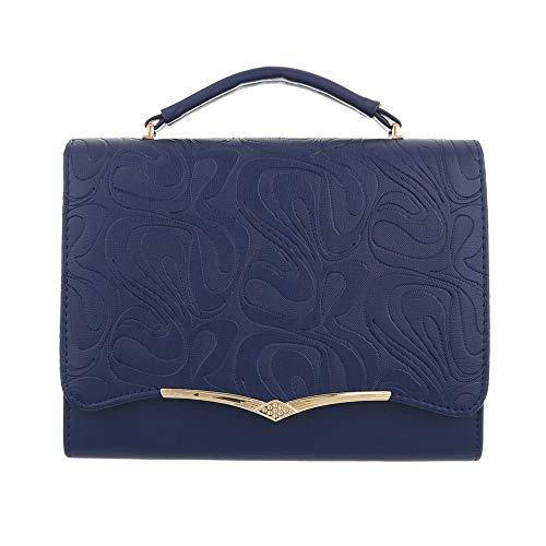 Ital-Design , Sac pour femme à porter à l'épaule Bleu Foncé