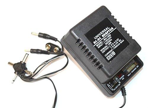 Universal Handheld Ac Adaptor - RocketBus Universal AC Power Supply Adapter Output 1000mA 1.5V 3V 4.5V 6V 7.5V 9V 12V 18W Transformer Charger for 6 Volt 9 Volt 12 Volt Handheld Device Toy Radio Scale MP3 Cassette Tape CD Player