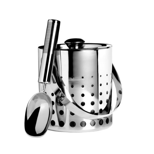 Knife Bucket (Mikasa Cheers Stainless Steel Ice Bucket and Scoop)