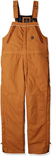 (Walls Men's Frost Blizzard Pruf Insulated Bib Overall Big-Tall, Pecan, Large)