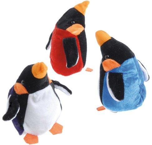 Plush Bean Bag Emperor Penguins Case Pack 4 , Kid ,Toy , Hobbie , Nice Gift from DDI