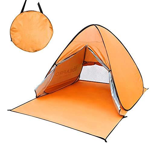 権限ハンディキャップ急速なDreamYS テント 2人用 サンシェードテント キャンプ 収納袋付き 大空間 軽量 防水 設営簡単 紫外線防止 折りたたみ アウトドア用品 キャンプ 海 花見 運動会 登山用 (ピンク)