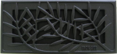 Iron Age Designs Locust Home Register Cover - Multiple sizes and (Cast Iron Air Register)