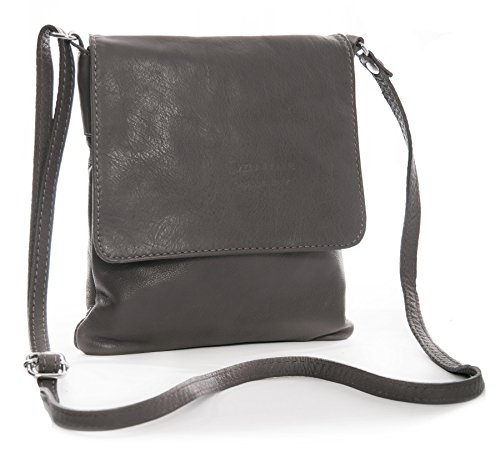 Pour BandoulièreMarron À En Véritable Mini Souple Taupish Big Sac Main Shop Cuir Grey Handbag 0ynwmO8Nv