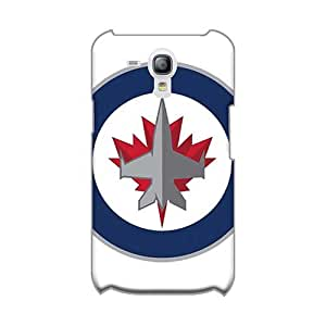 Scratch Resistant Hard Phone Covers For Samsung Galaxy S3 Mini (evM279IUjR) Customized Vivid Winnipeg Jets Pattern