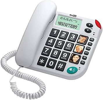 Comprar Maxcom KXT480BI - Teléfono fijo, color blanco