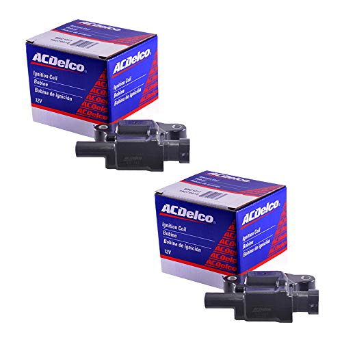 Coil Ignition Isuzu (New OEM Ignition Coil Set (2) For For LS2 LS4 LS7 LS9 engines ACDELCO D513A D510C)