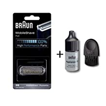 Braun 5S Series 5 5090cc Electric Foil Shaver with Appliance Oil and Brush