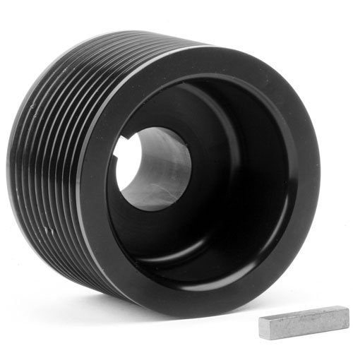 Weiand 90634 Pulley 10 Rib 2.5'' Upper by Weiand (Image #1)