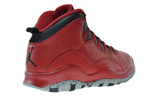 half off cc7fc 2c2bc Amazon.com   Jordan Air 10 Retro 30th Bulls Over Broadway Men s Shoes Gym  Red Black-Wolf Grey 705178-601   Basketball