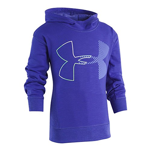 Under Armour Girls' Toddler Hoody, Constellation Purple, 3T by Under Armour