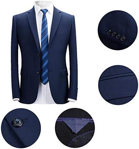 FOMANSH ジャケット メンズ ビジネス ブレザー スーツ テーラード 2つボタン