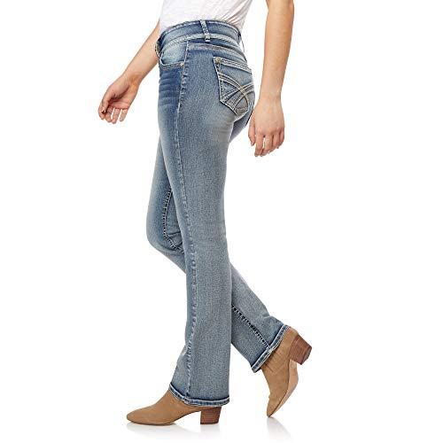 WallFlower Women's Instastretch Luscious Curvy Bootcut Jeans