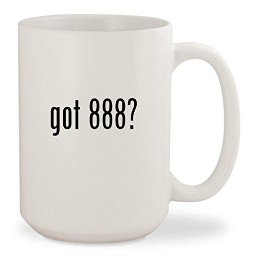 got 888? - White 15oz Ceramic Coffee Mug Cup