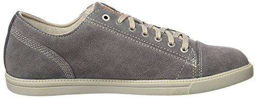 Timberland Fulk Cap Toe Ox, Zapatos de Cordones Oxford para Hombre Gris (Steeple Grey Hammer Ii Suede)