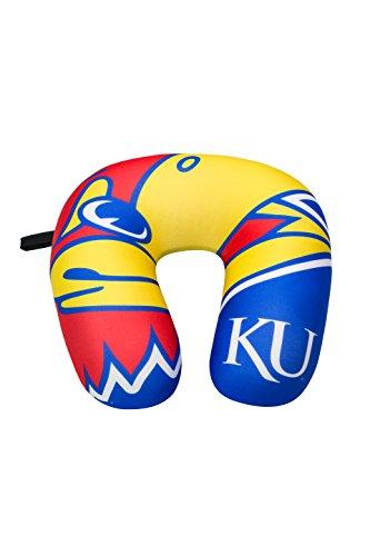 NCAA Kansas Jayhawks Impact Neck Pillow, Blue