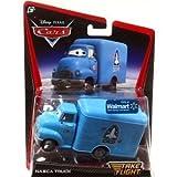Disney / Pixar CARS TOON 1:55 Scale Die Cast Car Take Flight NASCA Truck Ground Support