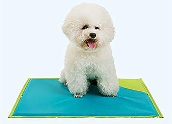 Sun Glower Bonita Cama para Su Mascota Doble uso colchón para dormir de refrigeración para mascotas