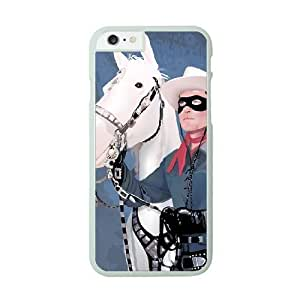 Lone ranger Image On The iPhone 6 White Cell Phone Case AMW896854