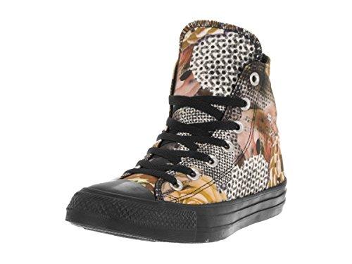 Converse Dames Chuck Taylor All Star Digitale Bloemen Hi Zwart / Wit Skate Schoen 9.5 Dames Ons