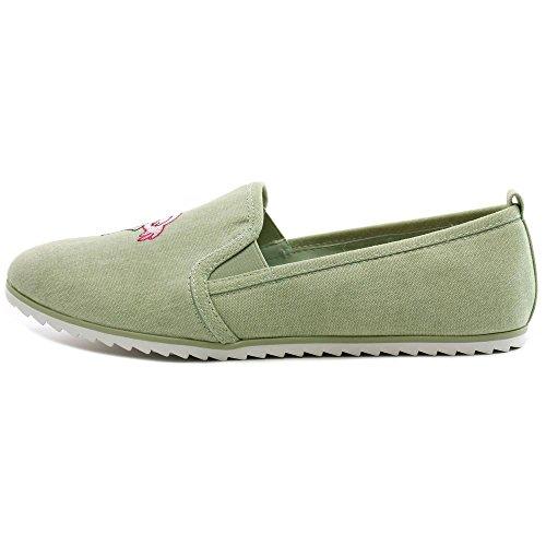 Bar Iii Donna Opale Low Top Slip On Sneakers Moda Menta Opale
