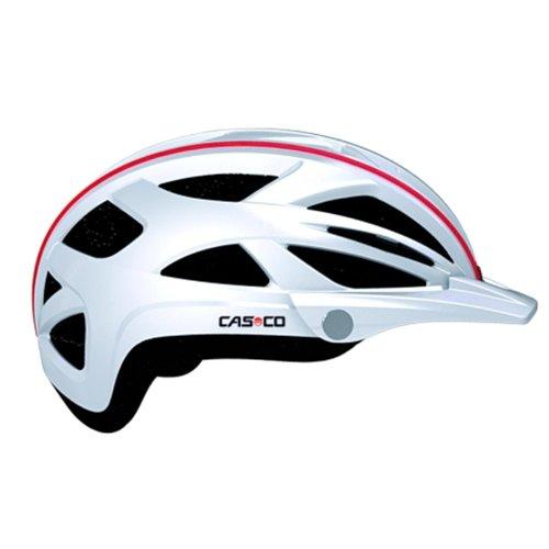 CASCO Active-TC weiß Life Reflektor Fahrradhelm Helm Bike Cityhelm Trekking City, 16.04.0817, Größe S/M 52 - 58 cm