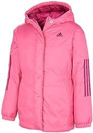 Adidas Girls Hooded Insulated Jacket Coat