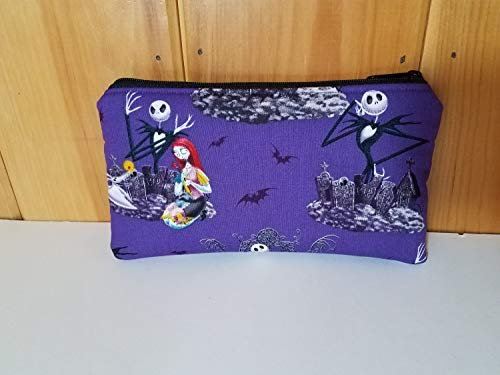 Nightmare Before Christmas Zippered Clutch - Purse -