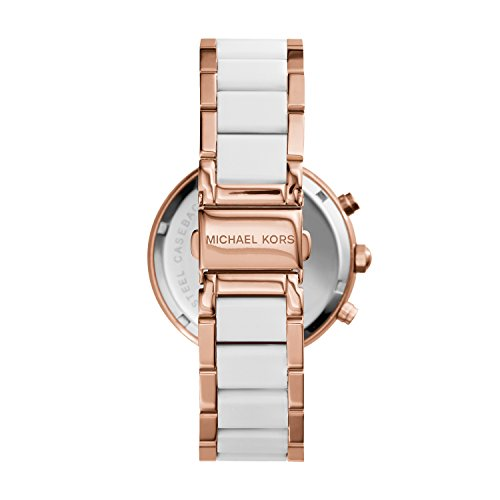 michael kors women 39 s parker rose gold tone watch mk5774. Black Bedroom Furniture Sets. Home Design Ideas