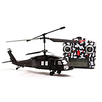 "My Funky Planet Web RC 12"" Black Hawk Helicopter 2.4G"