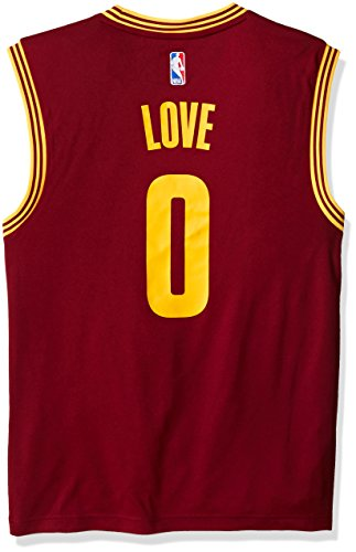 610c6119407 adidas NBA Cleveland Cavaliers Kevin Love  0 Men s Road Replica Jersey