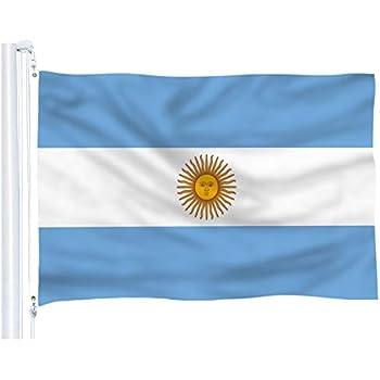 Amazon.com: AZ FLAG Argentina Bandera Náutica 18 x 12 ...