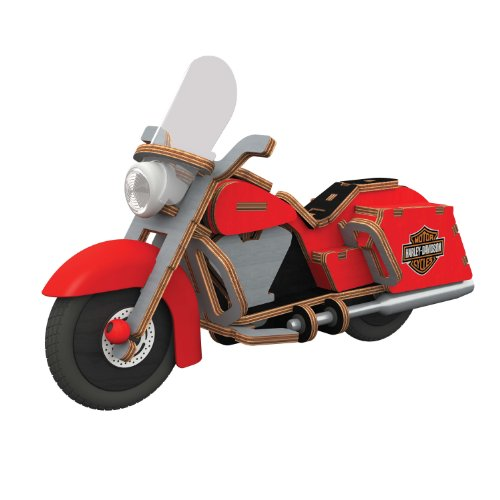 Buildex Harley-Davidson Road King - Motorcycles Wooden Sale For