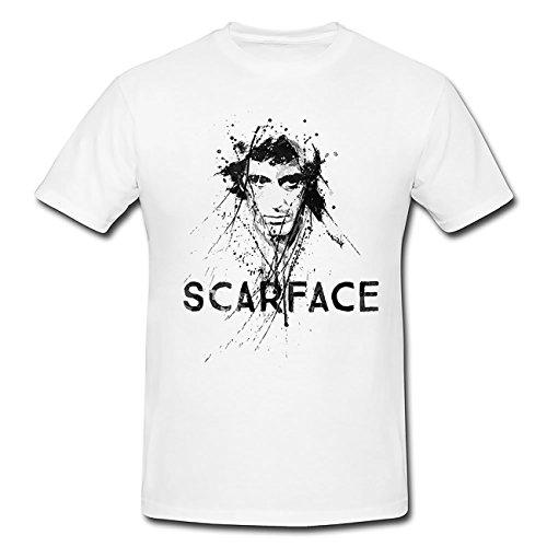 Scarface T-Shirt Herren, Men mit stylischen Motiv von Paul Sinus